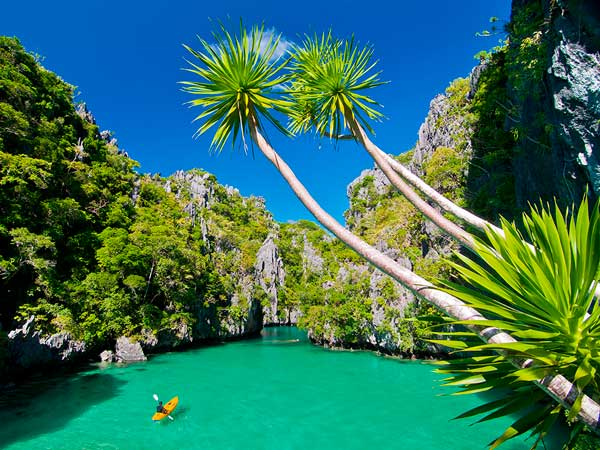 Palawan island philippines Small islands around the world